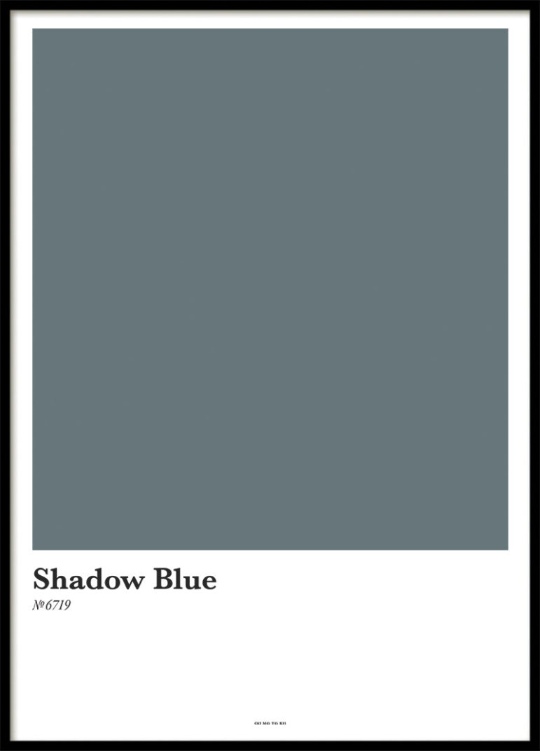 SHADOW BLUE, POSTER