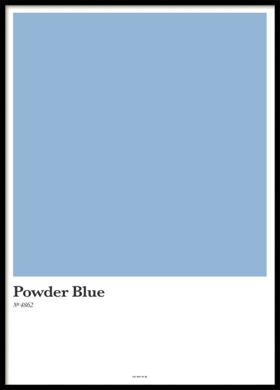 POWDER BLUE, POSTER