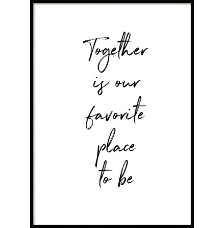 Together, Poster