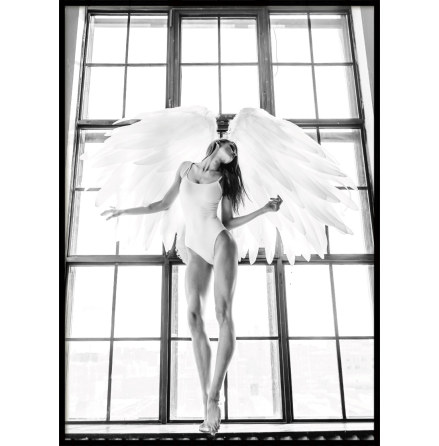 Window angel, Poster