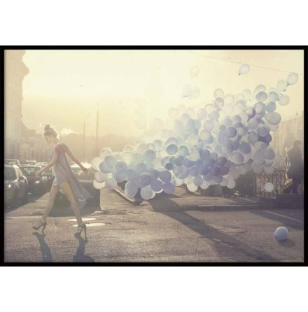 Fashion Balloons, Poster