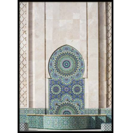 Casablanca Fountain, Poster
