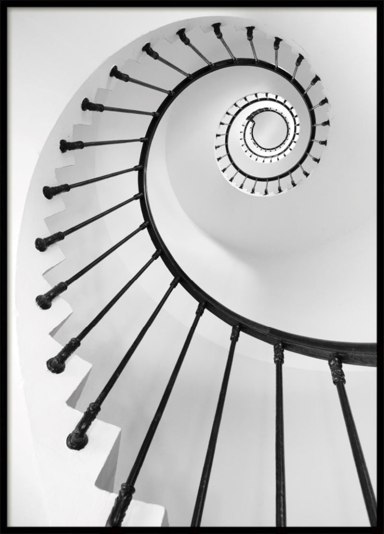 Through The Staircase, Poster
