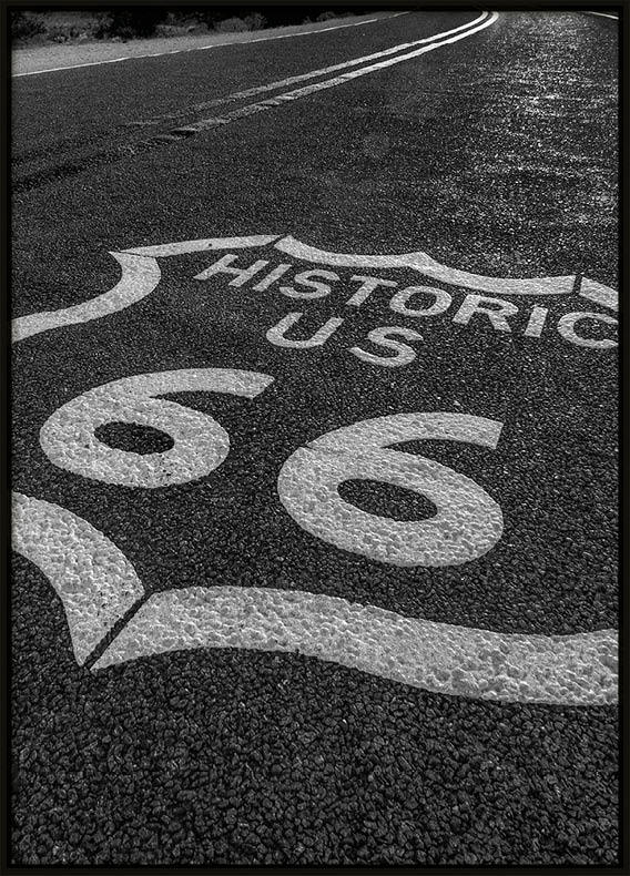 Poster, Route 66
