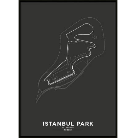 Poster, Istanbul Park F1