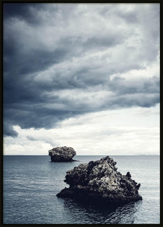 Rock Cloud Blue, Poster