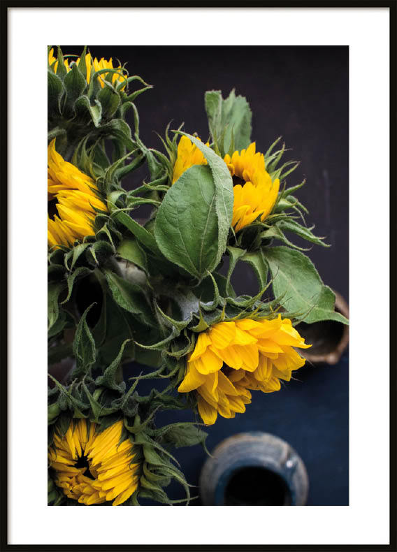 Poster, Yellow Flowers