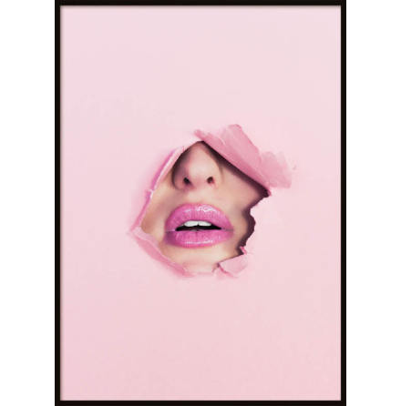 Poster, Pink Lips