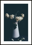 Poster, White Flowers