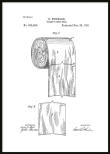 Patent Poster Toilet Paper