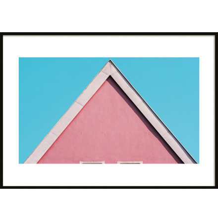Poster, Pink House