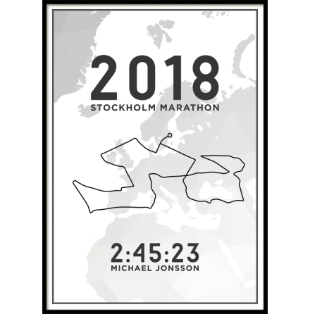 Marathon Poster, Your Choice