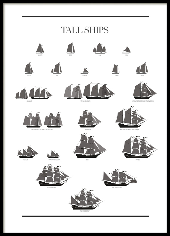 Tall Ships, Poster