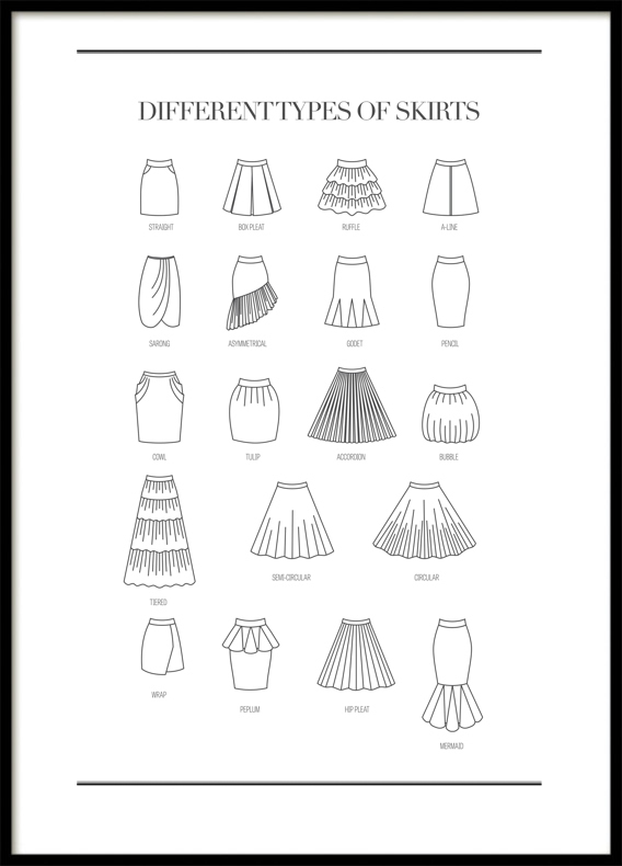 Skirts, Poster