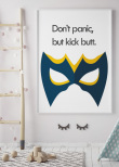 Don't Panic, Superhero, Poster