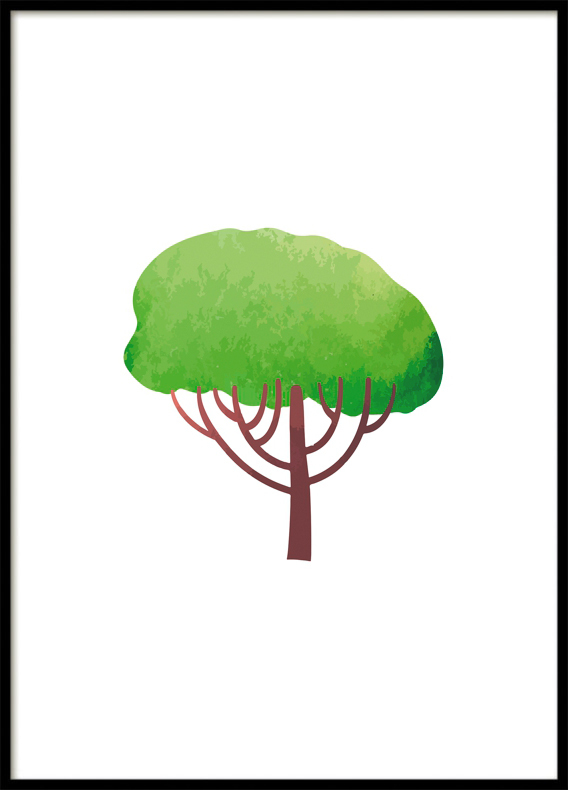 Magic Forest, Tree I, Poster