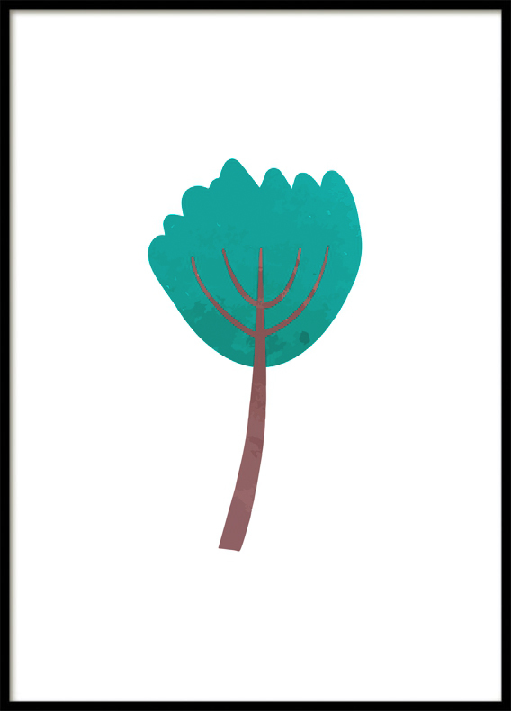 Magic Forest, Tree III, Poster