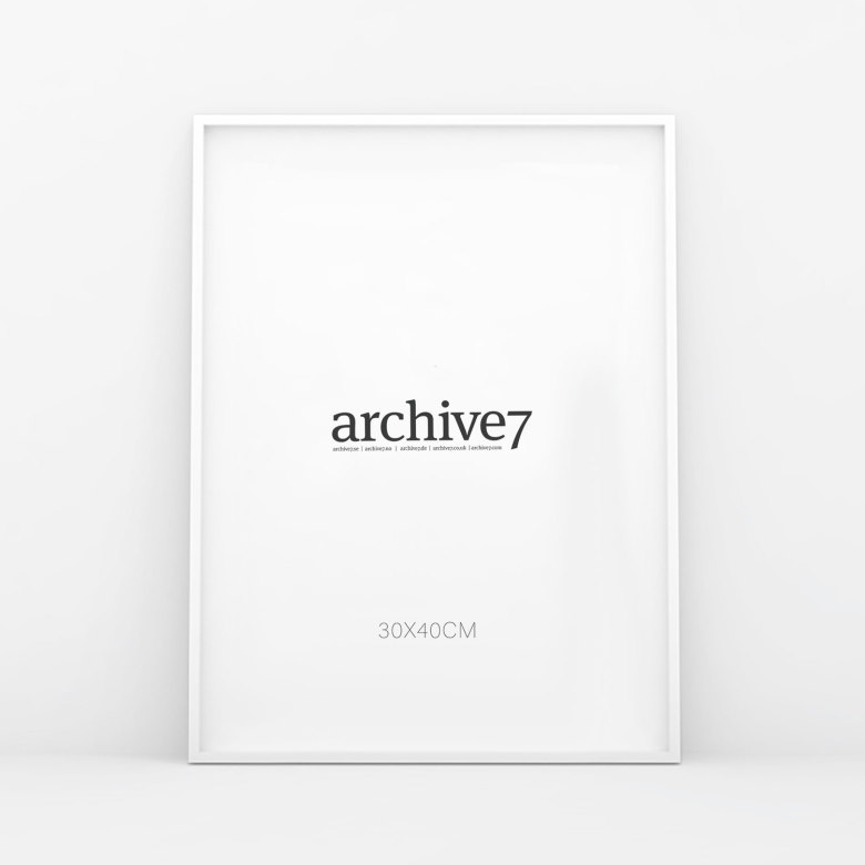 Shop Picture Frames | Black & White| Wood | Metal | Archive Seven