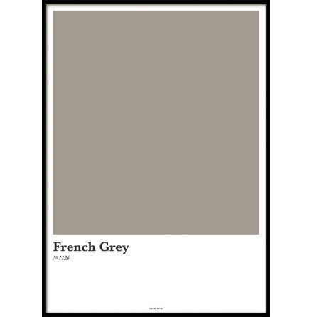 FRENCH GREY, POSTER