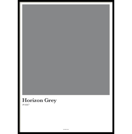 HORIZON GREY, POSTER