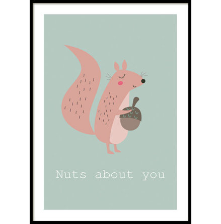 SQUIRREL, POSTER