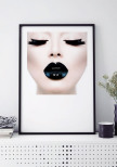 FASHION LIPS POSTER