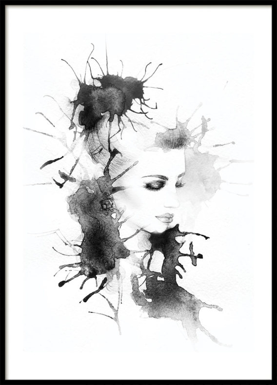 Ink Woman, Poster
