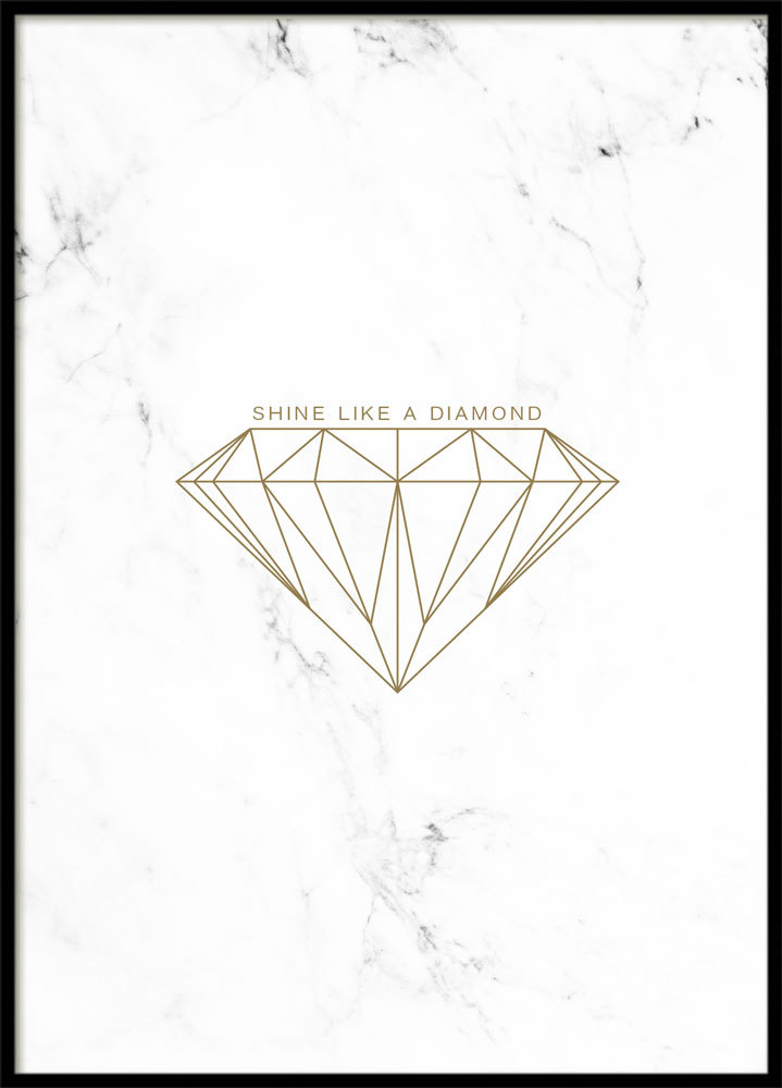 GOLD DIAMOND, POSTER
