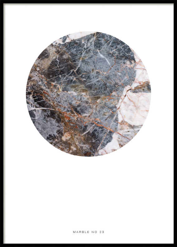 MARBLE NO23, POSTER