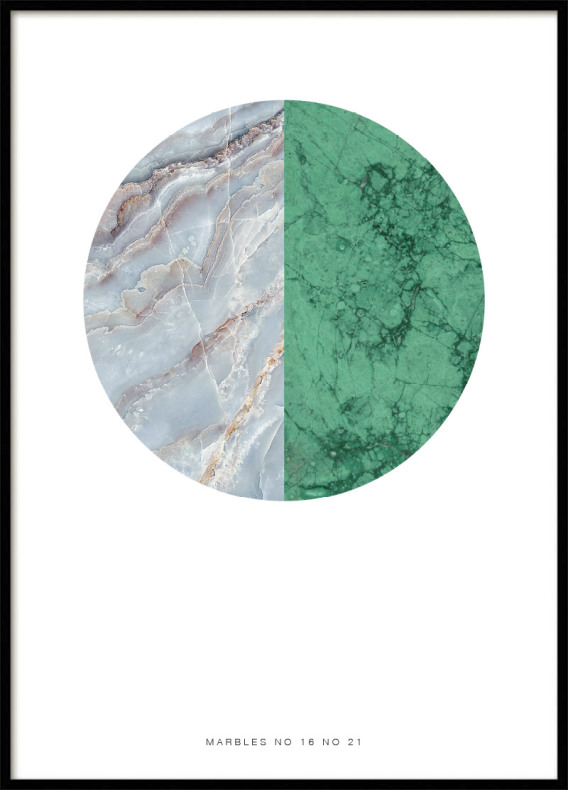 MARBLE MIX POSTER