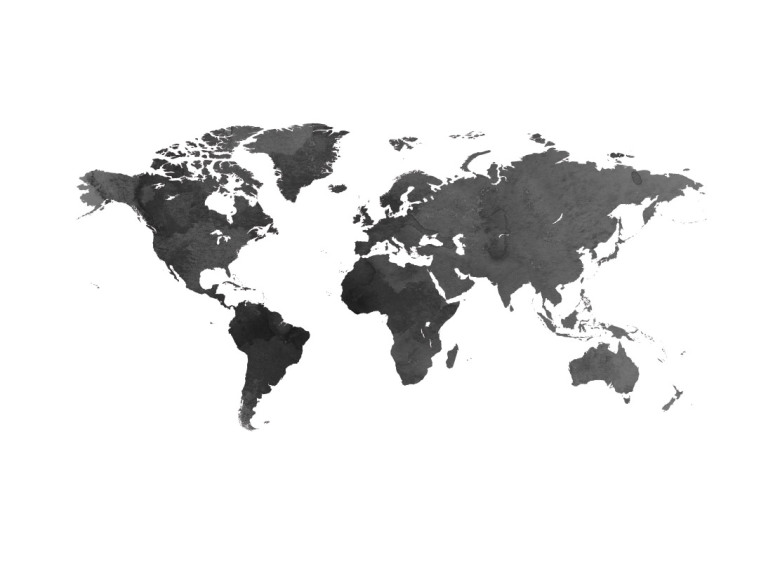 Poster world map poster with maps cities poster world map black gumiabroncs Gallery